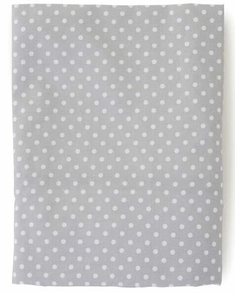 Fox Dot 200 Thread Count 100% Cotton Fitted Sheet by The Little Acorn